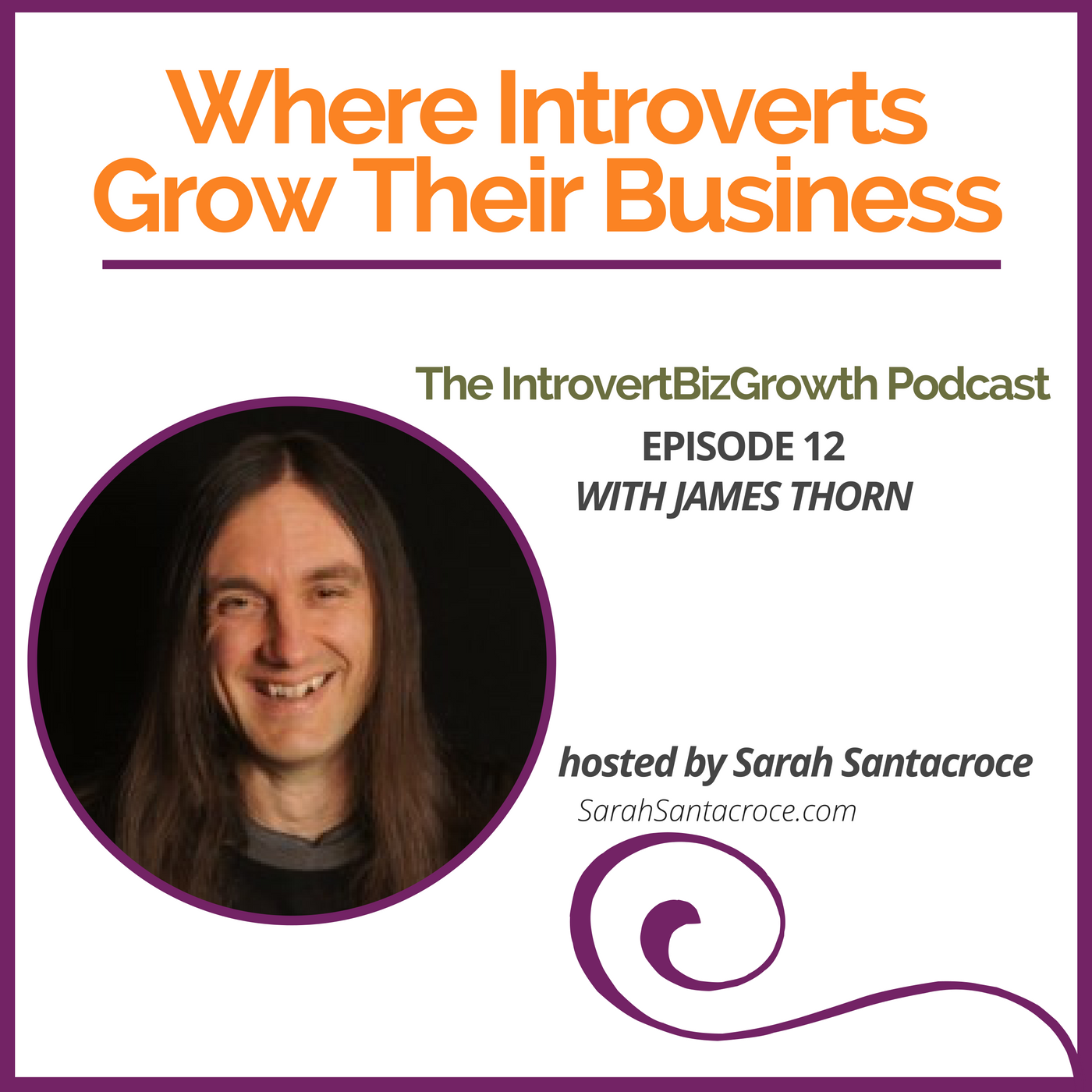 Podcast with James Thorn