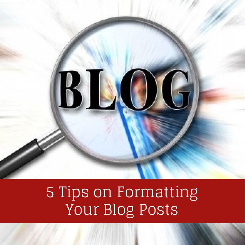blog formatting tips