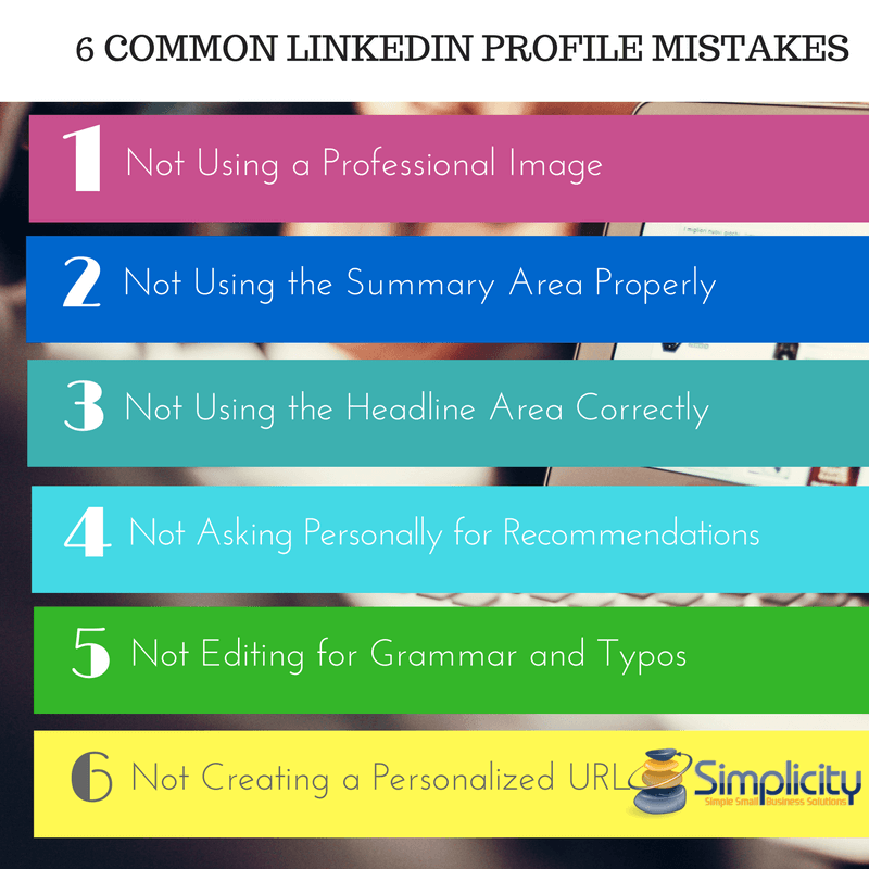 LinkedIn Profile Mistakes