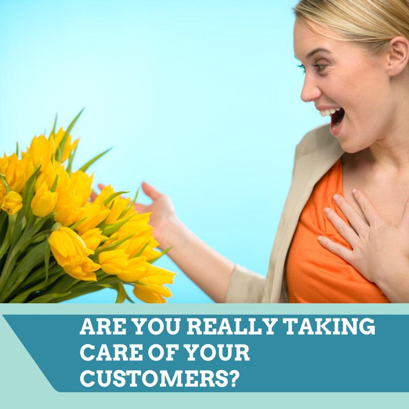 taking care of your customers
