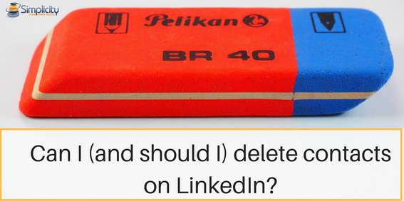how to delete the linkedin account