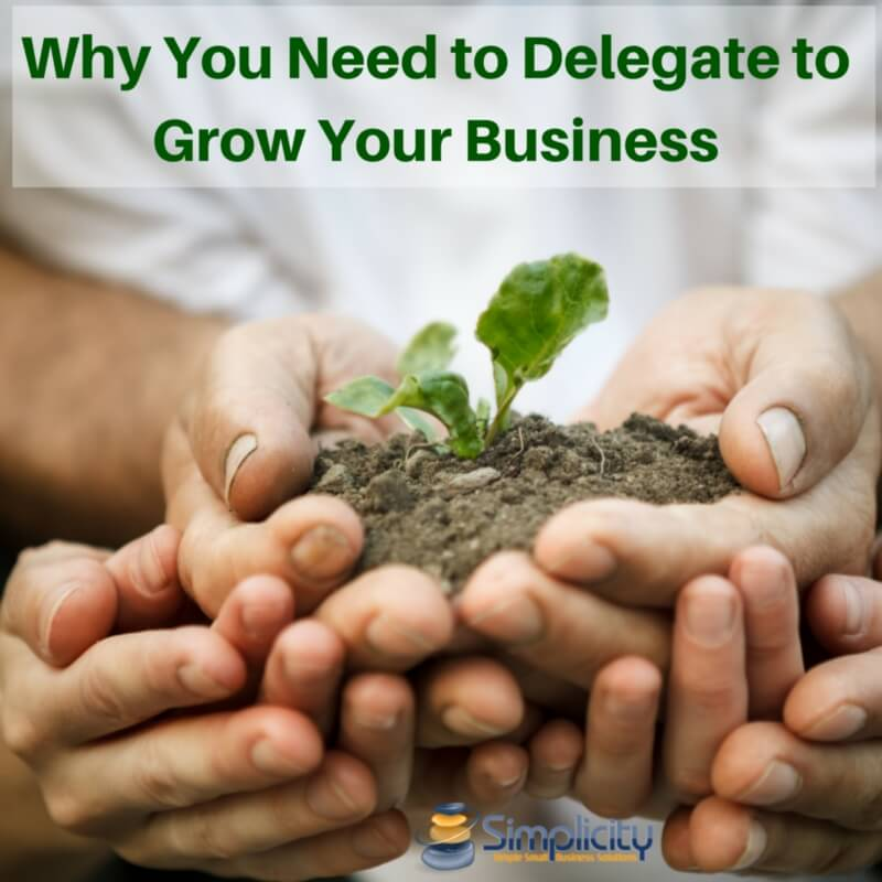 Delegate to Grow