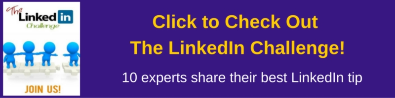 click to check out the LinkedIn Challenge