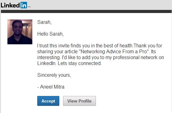 Linkedin invitation limit personalized invitation on linkedin stopboris Images